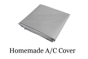 homemade A/C covers